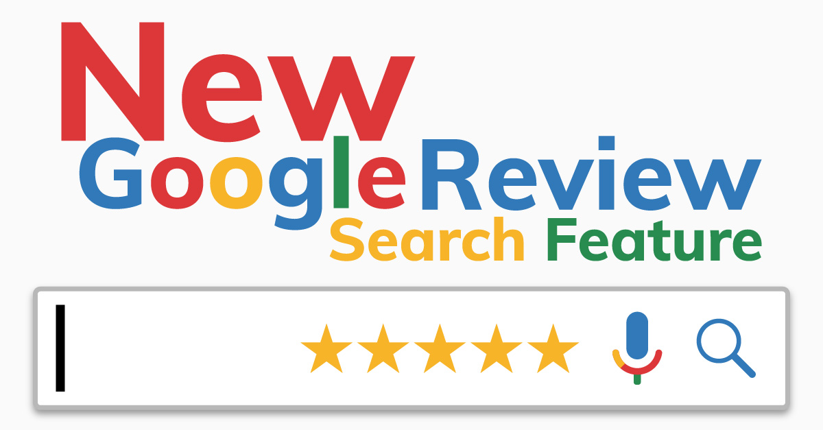 New Google Review Search Feature